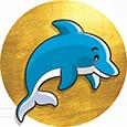 little-dolphin-mantatani-island-footer-logo